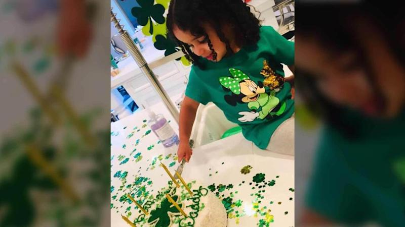 Dream Kardashian Throws Daddy Rob a St. Patrick's Birthday Party Before Exchange with Blac Chyna