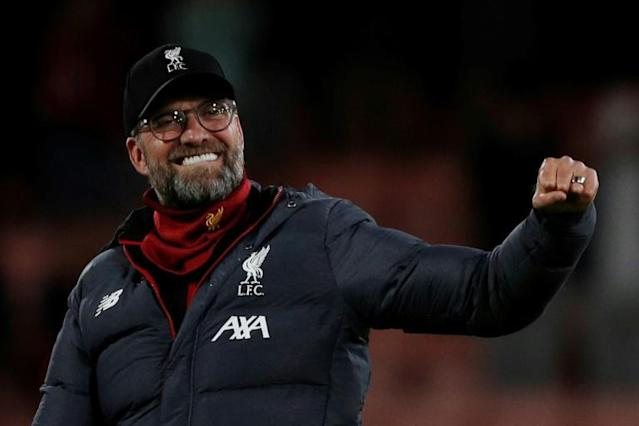 When will Jurgen Klopp's Liverpool be able to start their Premier League title party? (AFP Photo/Adrian DENNIS)