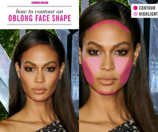 The right way to contour and highlight for your face shape view photos ccuart Gallery