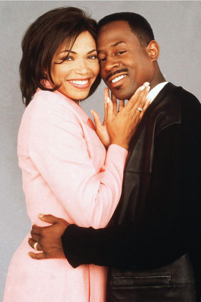 Tisha Campbell and Martin Lawrence on Martin