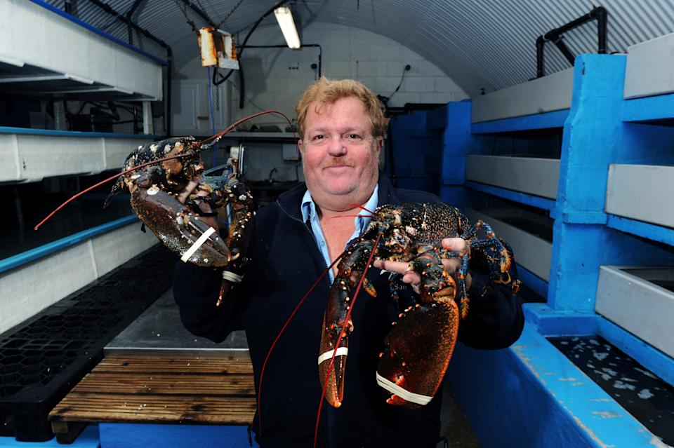 Sam Baron is closing holds shellfish are seen as they are processed by Baron Shellfish in Bridlington for export to the EU (file photo). See SWNS story SWLEshellfish. The owner of the first lobster tank business in Europe's largest shellfish port has revealed he has been forced to close, alluding to Brexit restraints as the main reason. Baron Shellfish Limited, based in Bridlington, East Yorkshire is to close its doors after 40 years of exporting lobsters and crabs to the EU. As a schoolboy, Sam Baron worked alongside his father to set up the first lobster tank business from scratch. Over the years the business grew alongside Bridlington Harbour, which became the biggest shellfish port in the UK.