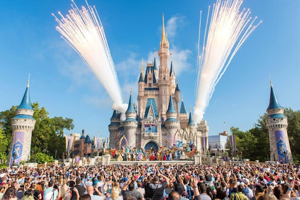 Walt Disney World Resort marked its 45th anniversary on October 1, 2016 in Lake Buena Vista, Florida. (Photo by Jacqueline Nell/Disneyland Resort via Getty Images)