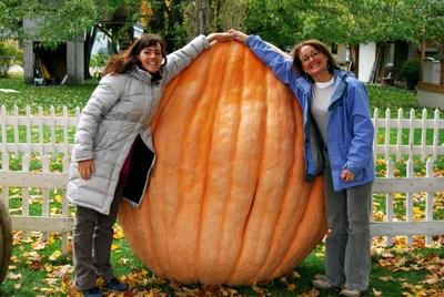 Big Pumpkins, Gorgeous Views, Stunning Fall Color and Fun Festivals in Benzie County, Michigan. Make It Benzie!! VisitBenzie.com