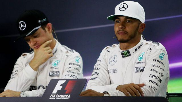 Rosberg and Hamilton never really saw eye to eye. Image: Getty