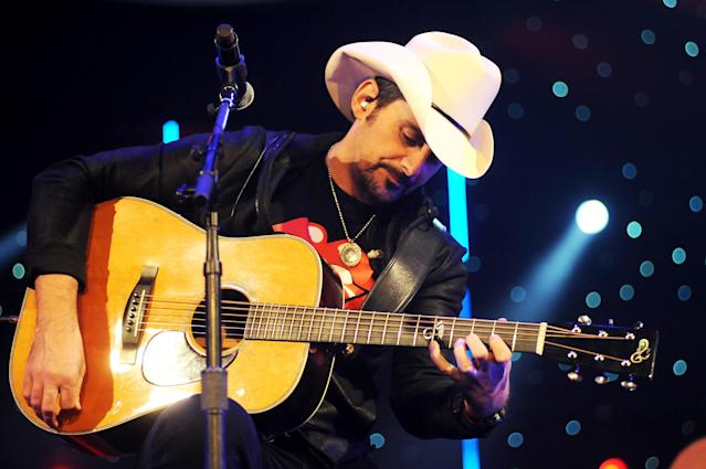 <p>The country star's 11th studio album, <i>Love and War</i>, debuted and peaked at No. 13 in May. It was his first nonholiday studio album to miss the top 10 since 2001. On the plus side, he made a winning series of TV commercials and was solid co-hosting the CMAs.<br>(Photo: Getty Images) </p>