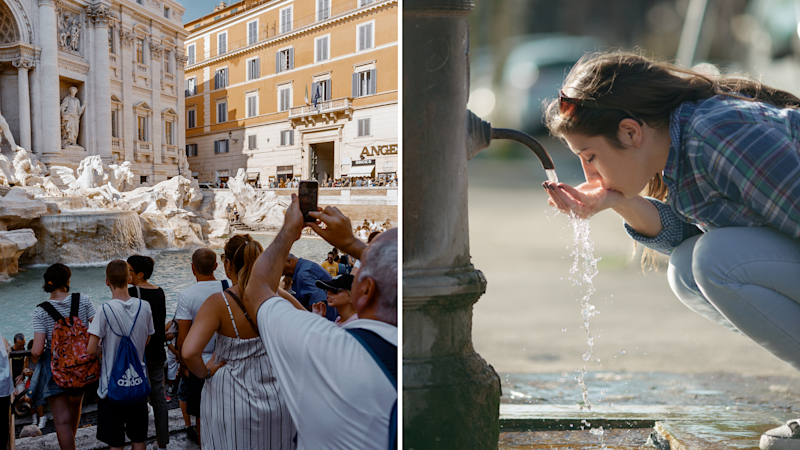 Rome has found a new approach to deal with unruly tourists. Images: Getty