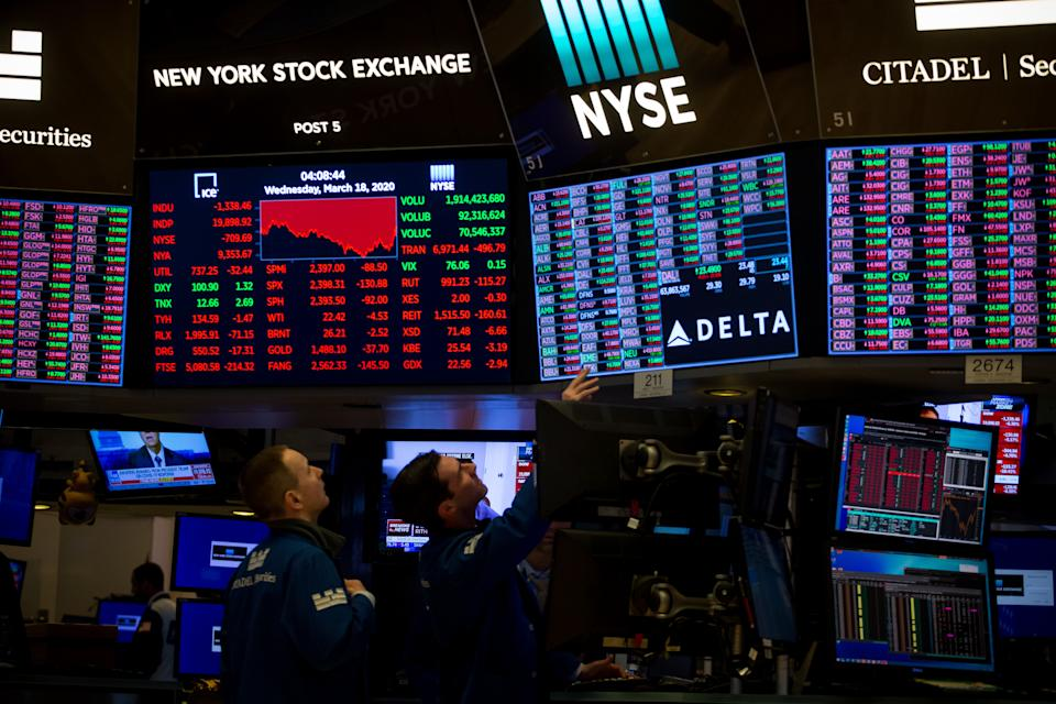 New York Stock Exchange. Photo: Michael Nagle/Xinhua via Getty