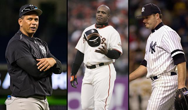 A-Rod supports Barry Bonds and Roger Clemens getting into the Hall of Fame for more reason than one. (Getty Images)
