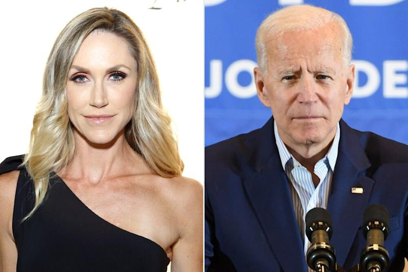 From left: Lara Trump and former Vice President Joe Biden | John Lamparski/Getty; Ethan Miller/Getty