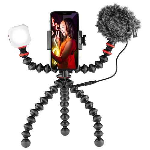 JOBY GorillaPod Mobile Vlogging Kit. Image via Best Buy.