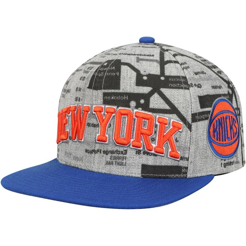 Knicks Metro Snapback Adjustable Hat