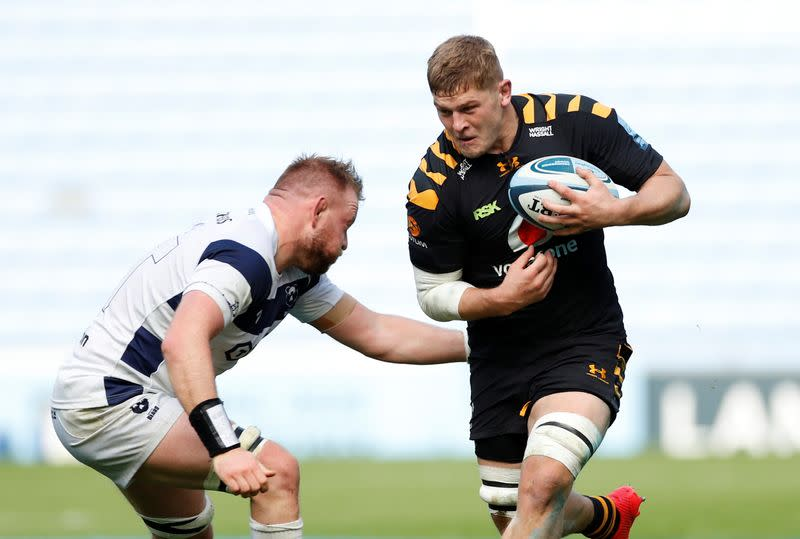 Wasps flanker Willis named RPA player of the year
