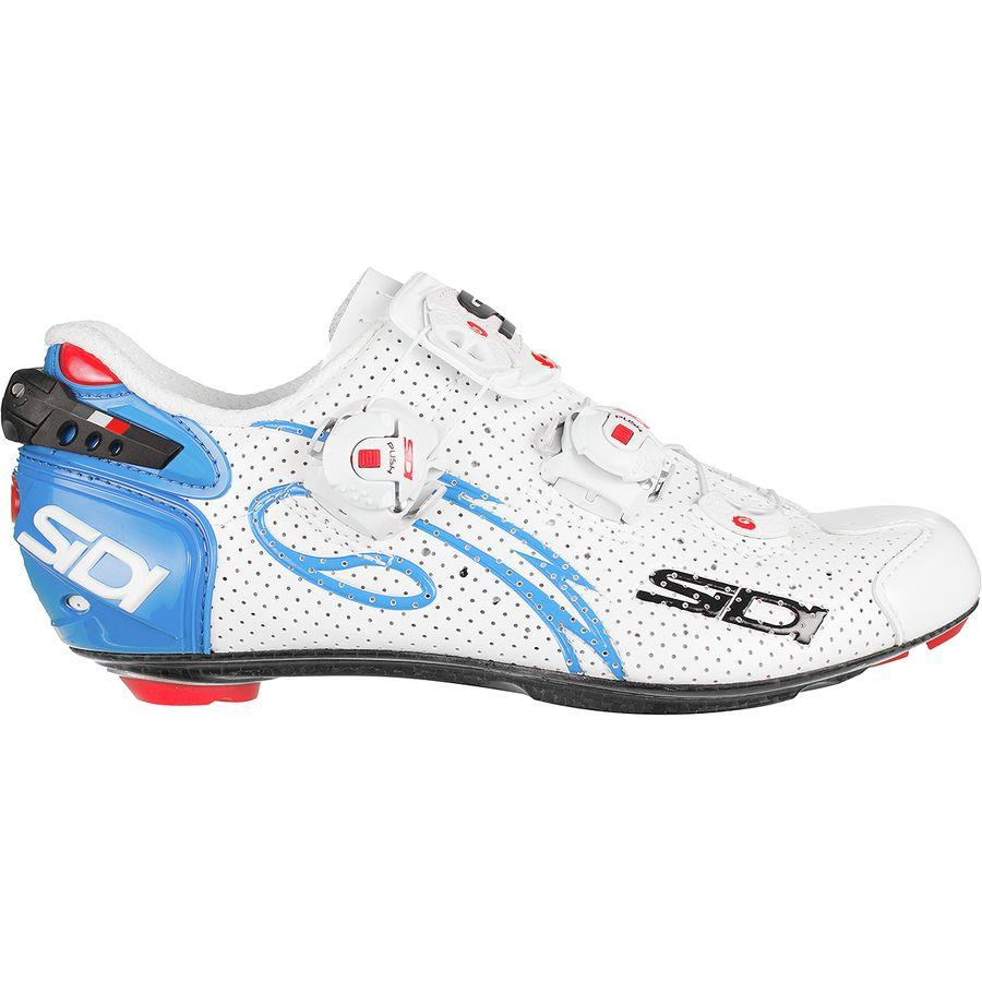 """<p><strong>Sidi</strong></p><p>competitivecyclist.com</p><p><strong>$274.99</strong></p><p><a href=""""https://www.competitivecyclist.com/sidi-wire-carbon-air-push-shoes-womens"""" target=""""_blank"""">Buy Now</a></p><p>Originally $499.99</p>"""