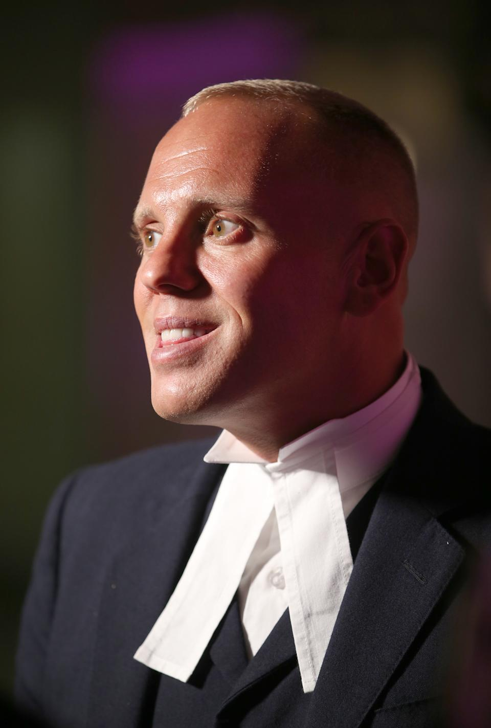 Criminal barrister Judge Robert Rinder at the 2017 Edinburgh International Television Festival at the Edinburgh International Conference Centre. (Photo by Jane Barlow/PA Images via Getty Images)