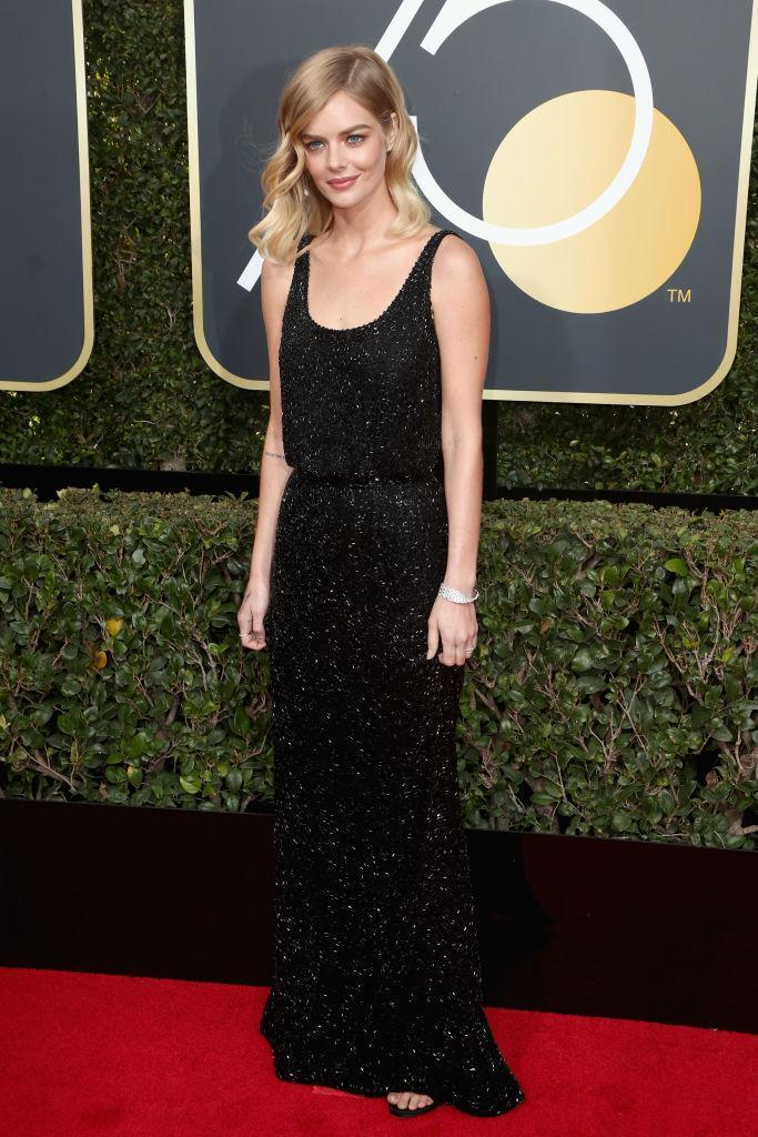<p>The <em>SMILF</em> actress attends the 75th Annual Golden Globe Awards at the Beverly Hilton Hotel in Beverly Hills, Calif., on Jan. 7, 2018. (Photo by Frederick M. Brown/Getty Images) </p>