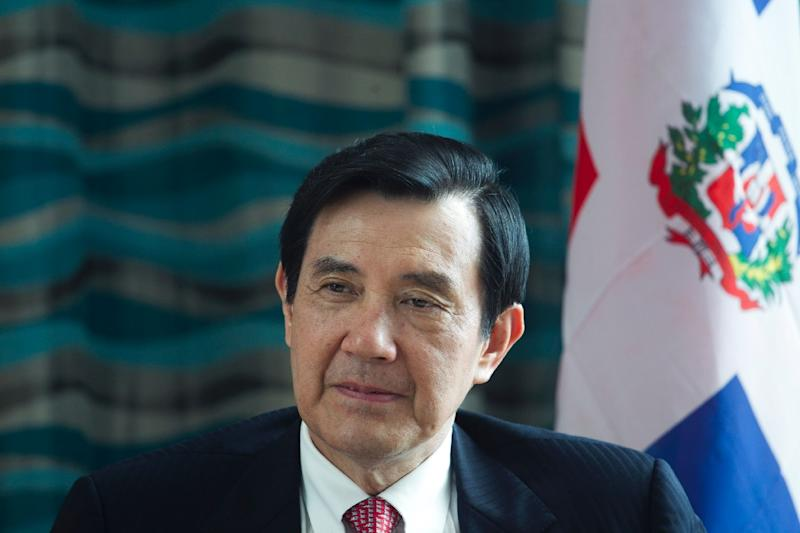 Taiwan's President Ma Ying-jeou, pictured on July 12, 2015, will meet his Chinese counterpart Xi Jinping in Singapore on November 7, 2015 (AFP Photo/Erika Santelices)