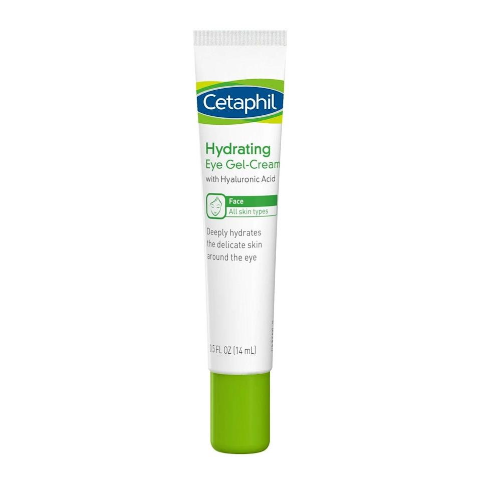 <p>Hide the evidence of a long night or bad breakup with the under-$15 <span>Cetaphil Hydrating Eye Gel Cream</span> ($12). You'll feel the slightest tingle as it works to deflate any swelling under your eyes.</p>