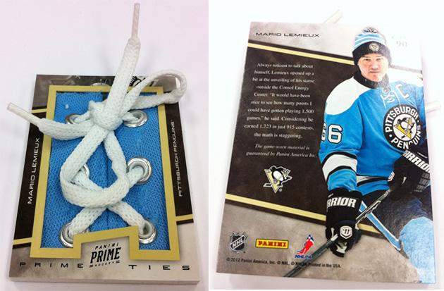 Panini America's lace-up hockey cards are among the ...