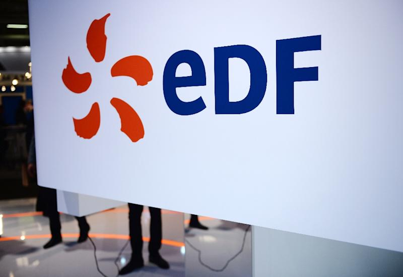 French nuclear power giant EDF which is nearly 37 billion euros in debt, hopes it will lead other European countries to rethink their nuclear strategy - and green-light projects for which it can provide the technology (AFP Photo/Eric Piermont)