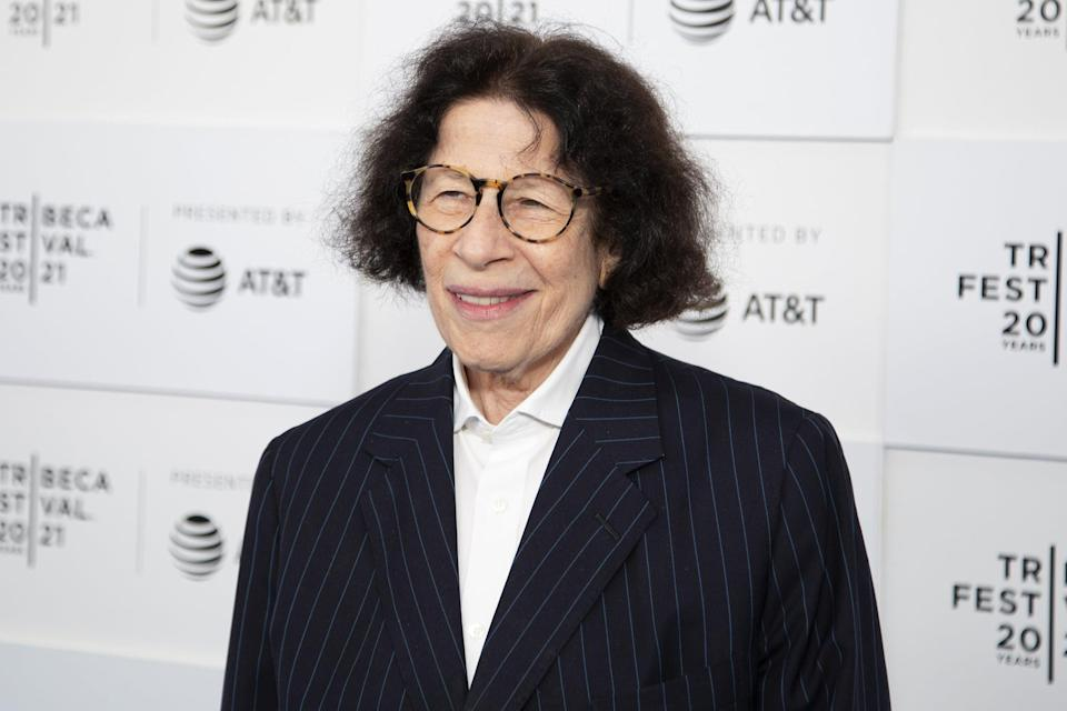 """<ul> <li><strong>What to wear: </strong>Famously known for her cynical commentary on American life as a New Yorker, Fran Lebowitz is an actor, author, and public speaker. She's been the voice to a lot of political issues and made it onto talk shows such as <a class=""""link rapid-noclick-resp"""" href=""""https://www.popsugar.com/Jimmy-Fallon"""" rel=""""nofollow noopener"""" target=""""_blank"""" data-ylk=""""slk:Jimmy Fallon"""">Jimmy Fallon</a>'s and has even scored <a href=""""https://www.popsugar.com/entertainment/bowen-yang-emmy-nomination-2021-48416397"""" class=""""link rapid-noclick-resp"""" rel=""""nofollow noopener"""" target=""""_blank"""" data-ylk=""""slk:imitation status on SNL"""">imitation status on <b>SNL</b></a>. To channel Fran, wear a black suit with a white button-down shirt, and wear your hair down. Add glasses to complete the look.</li> </ul>"""