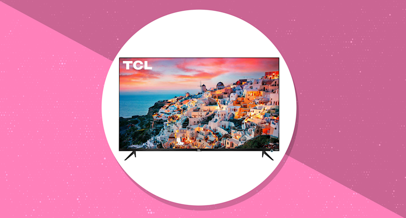You can save $650 on this TCL 65-inch 4K TV, with incredibly lifelike picture quality. (Photo: Amazon/Yahoo Lifestyle)
