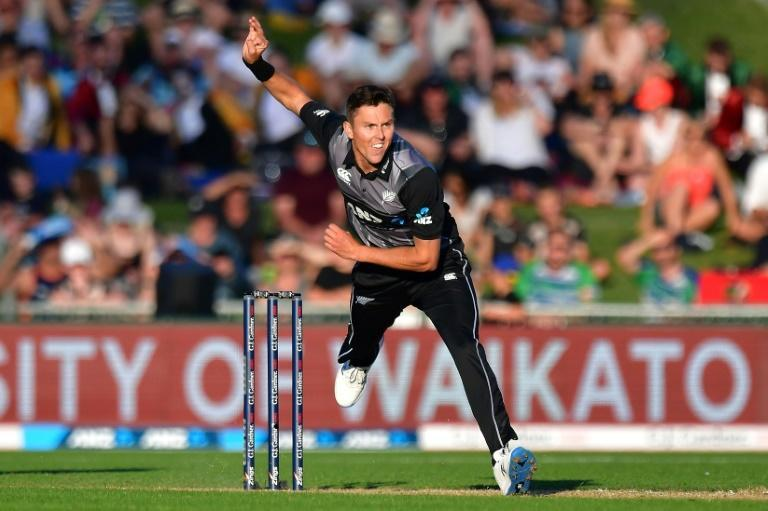 New Zealand's Trent Boult claimed a wicket with the first ball of the IPL final
