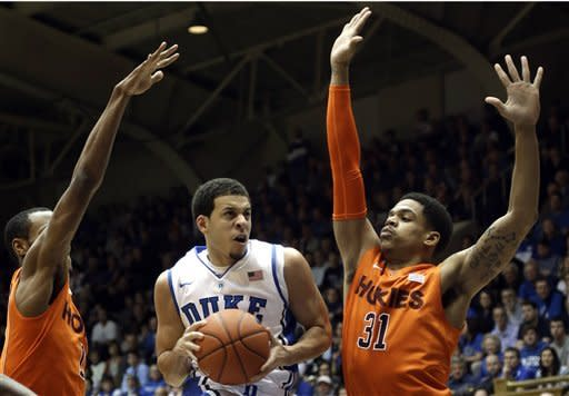 Seniors lead No. 3 Duke past Va Tech, 85-57