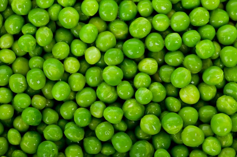 Peas please me, as the Beatles nearly once said