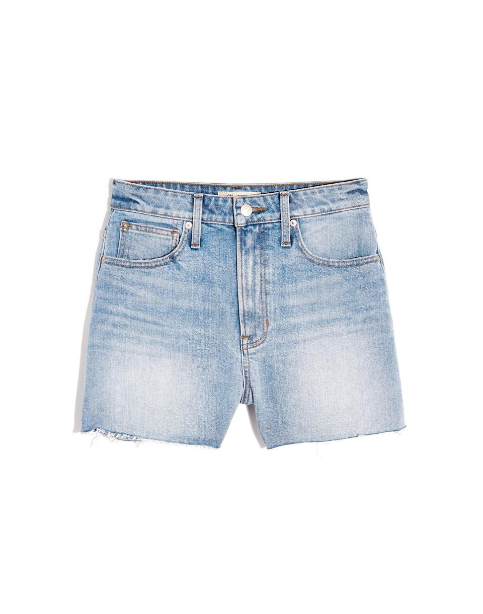 Madewell The Curvy Perfect Jean Short