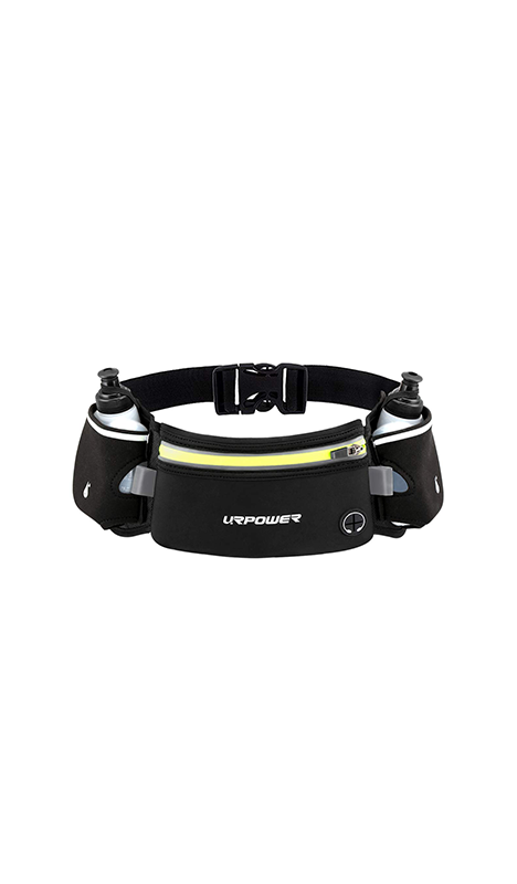 """<p><strong>URPOWER</strong></p><p>Upgraded Running Belt with Water Bottle</p><p><strong>$16.99</strong></p><p><a href=""""http://www.amazon.com/dp/B07GBZ9Y48/?tag=syn-yahoo-20&ascsubtag=%5Bartid%7C2140.g.22855793%5Bsrc%7Cyahoo-us"""" target=""""_blank"""">Shop Now</a></p><p><strong>Average rating: </strong>4.4/5</p><p><strong>Number of reviews:</strong> 106</p><p><strong>Reviewer rave:</strong> """"I LOVE IT. I [held] off from purchasing a hydration belt because I thought that it might be too heavy or that the water moving around would be annoying, but none of that was an issue. Typically I carry a full-size water bottle in hand even on my long runs, kinda annoying tbh. BUT after purchasing this belt I will never go back.""""</p>"""