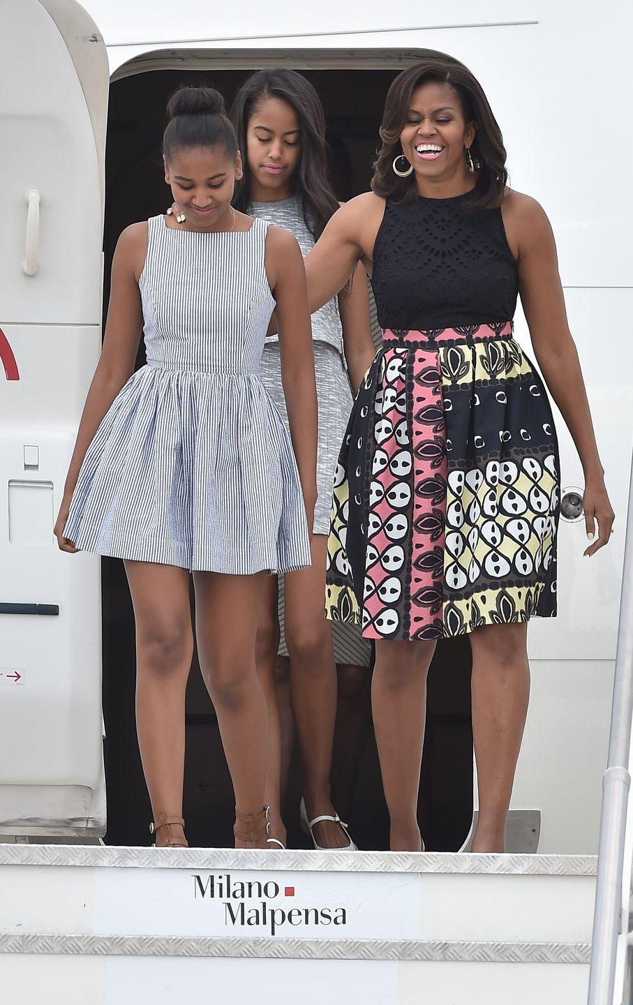 "<p>""<a href=""https://www.wmagazine.com/story/michelle-obama-parenting-strategy-sasha-malia-obama"" rel=""nofollow noopener"" target=""_blank"" data-ylk=""slk:I can't"" class=""link rapid-noclick-resp"">I can't</a> cherish you to death. We have to raise our children to be the adults that we want them to be, and that starts young. You can't be so afraid that life will break them that you don't prepare them for life."" </p>"