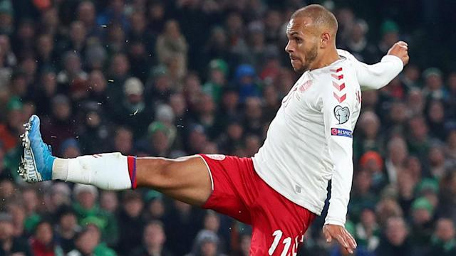 Matt Doherty cancelled out Martin Braithwaite's strike as Republic of Ireland and Denmark played out a 1-1 draw at the Aviva Stadium.