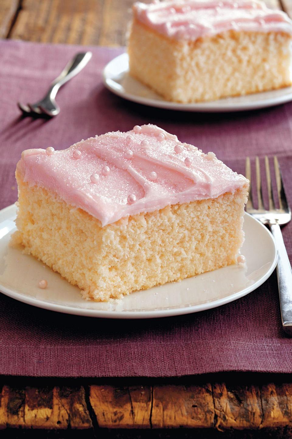 "<p><strong>Recipe: <a href=""https://www.southernliving.com/recipes/pink-lemonade-cake"" rel=""nofollow noopener"" target=""_blank"" data-ylk=""slk:Pink Lemonade Cake"" class=""link rapid-noclick-resp"">Pink Lemonade Cake</a></strong></p> <p>Instead of a lemonade stand, make today's activity a lemonade cake!</p>"