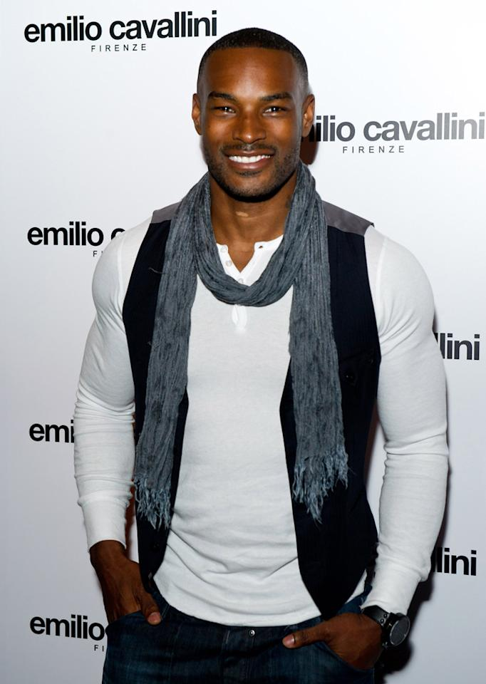 <b>Tyson Beckford</b><br><br>The original male supermodel, Beckford was named one of People magazine's 50 Most Beautiful People in 1995.