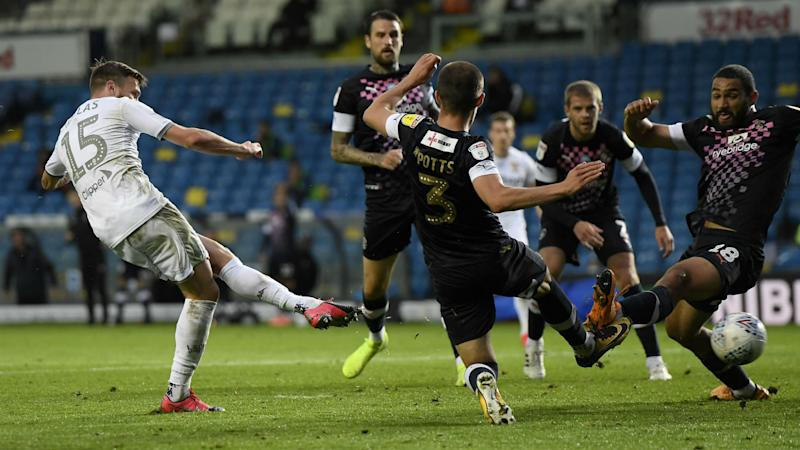 Championship: Leeds held by Luton, Brentford surge continues