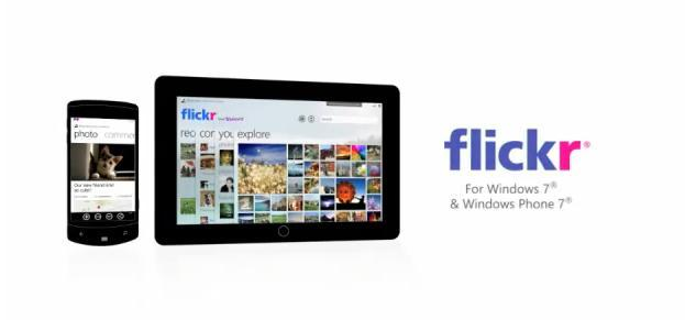 Yahoo trabaja en una aplicación de Flickr para Windows Phone 7 y 'tablets' Windows