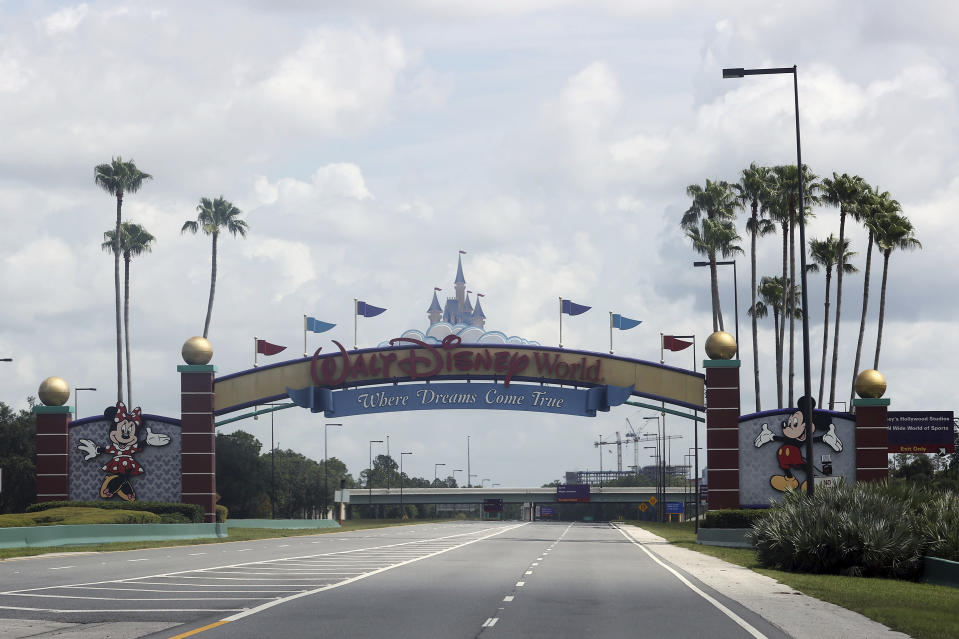 ESPN's Wide World of Sports Complex located within the Disney Complex will serve as the NBA's lone venue to complete the 2020 season. (mpi34/MediaPunch /IPX)