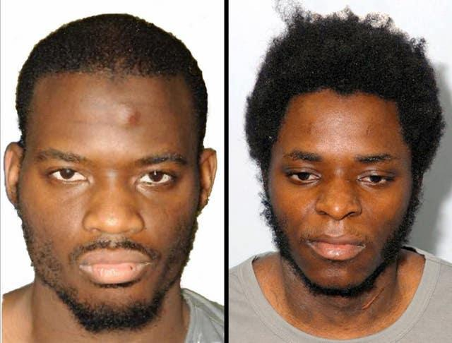 Michael Adebolajo and Michael Adebowale, who killed soldier Lee Rigby in 2013