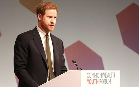 Prince Harry - Credit: SIMON DAWSON /REUTERS