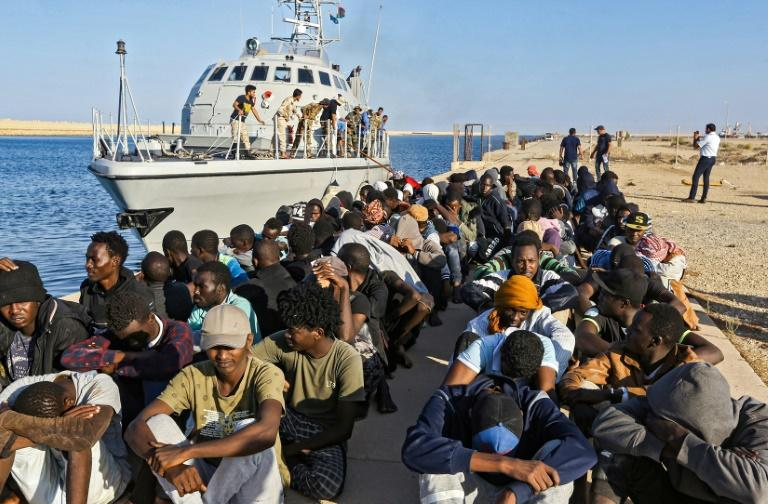Some EU countries were worried a naval operation may encourage more migrants to try to cross from Libya (AFP Photo/Mahmud TURKIA)