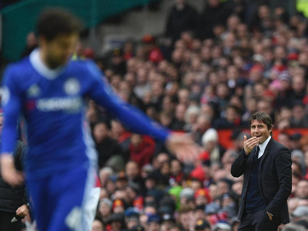 Conte heads to Wembley hoping to buck his recent trend (Getty)