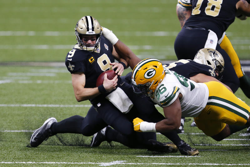 Packers Saints Football