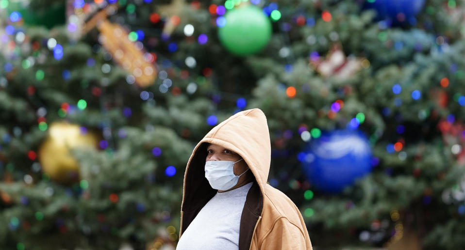 There has been a new surge in coronavirus cases in the US following Thanksgiving and there are fears the virus will continue to spike over the holiday period. Source: AP