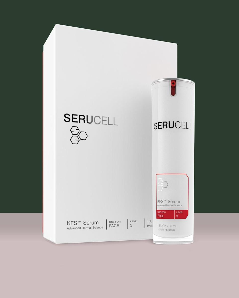 "<p>The nearly 1,500 bioactive proteins, collagens, peptides, and signaling factors in this <a href=""https://www.popsugar.com/buy/KFS-Cellular-Protein-Complex-Serum-540490?p_name=KFS%20Cellular%20Protein%20Complex%20Serum&retailer=serucell.com&pid=540490&price=225&evar1=bella%3Aus&evar9=47111925&evar98=https%3A%2F%2Fwww.popsugar.com%2Fbeauty%2Fphoto-gallery%2F47111925%2Fimage%2F47111932%2FKFS-Cellular-Protein-Complex-Serum&list1=beauty%20products%2Cbeauty%20shopping&prop13=mobile&pdata=1"" rel=""nofollow noopener"" class=""link rapid-noclick-resp"" target=""_blank"" data-ylk=""slk:KFS Cellular Protein Complex Serum"">KFS Cellular Protein Complex Serum</a> ($225) should be enough to keep celebs' skin looking more radiant than ever after the night's festivities.</p>"