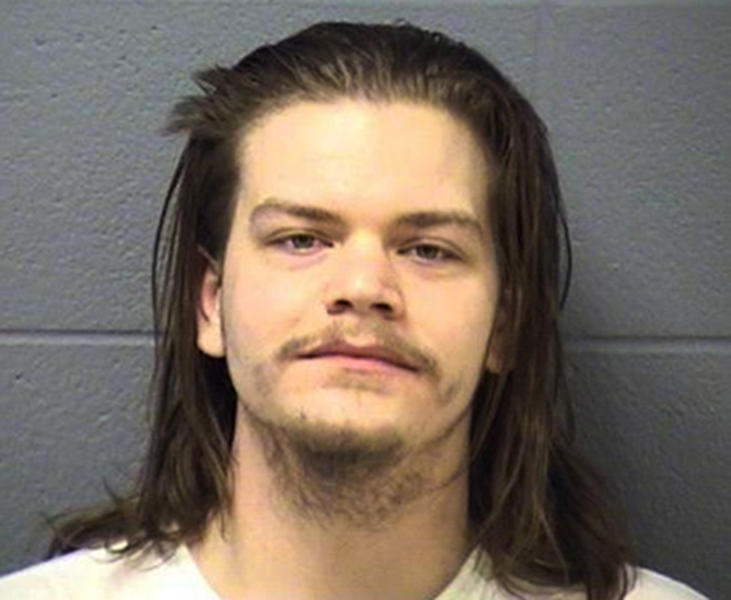 This undated booking photo provided by the Will County Sheriff's Office in Joliet, Ill., shows 24-year-old Joshua Miner. Miner was one of four young adults charged with first-degree murder in the Jan. 10, 2013, deaths of two men in Joliet. Police said the victims, Eric Glover and Terrence Rankins, both 22, were lured to the home of one of the suspects and then robbed and killed. Three of the people arrested were playing video games when police arrived at the Joliet home. (AP Photo/Will County Sheriff's Office)