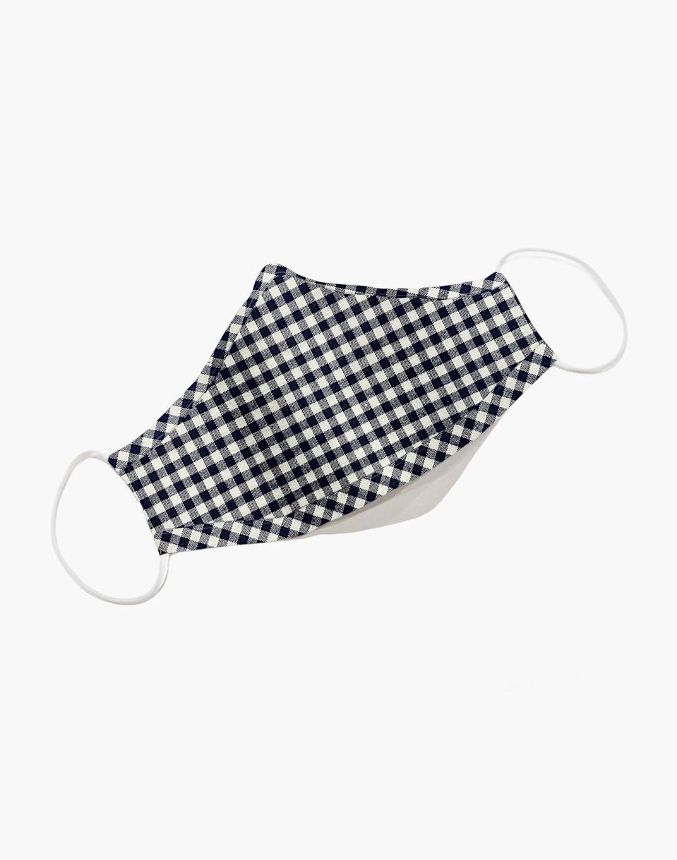 """<h3><a href=""""https://fave.co/3gGcOaI"""" rel=""""nofollow noopener"""" target=""""_blank"""" data-ylk=""""slk:Madewell Three-Pack Non-Medical Face Masks"""" class=""""link rapid-noclick-resp"""">Madewell Three-Pack Non-Medical Face Masks</a></h3><br>Each Madewell mask is crafted from leftover fabric scraps, which means every color is a limited edition. In addition to launching washable and reusable face masks for their customers, Madewell and J.Crew have donated 75,000 single-use face masks to Montefiore Medical Center in New York.<br><br><br><strong>Madewell</strong> Three-Pack Non-Medical Face Masks, $, available at <a href=""""https://go.skimresources.com/?id=30283X879131&url=https%3A%2F%2Ffave.co%2F3gGcOaI"""" rel=""""nofollow noopener"""" target=""""_blank"""" data-ylk=""""slk:Madewell"""" class=""""link rapid-noclick-resp"""">Madewell</a>"""