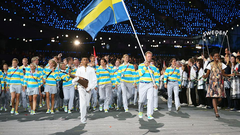 Sweden's Olympic team at London Olympics