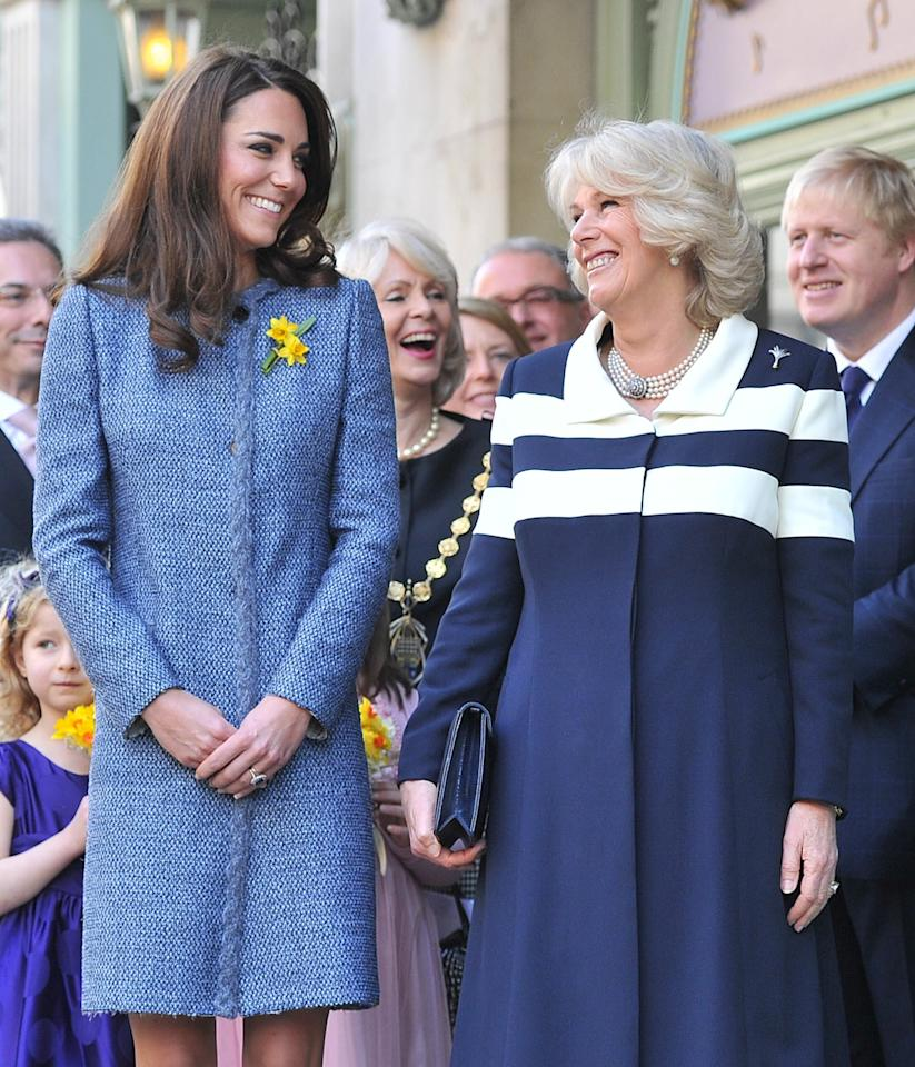 "<p>At royal events—even the <em>very</em> serious ones—<em></em>the Duchesses of Cambridge and Cornwall are often spotted together, cracking each other up. The pair seem to have formed a bond over the years, and it's easy to see why. Kate Middleton and Camilla both <a href=""https://www.townandcountrymag.com/society/tradition/a27256185/prince-william-kate-middleton-wedding-anniversary-photographer-hugo-burnand-interview/"" target=""_blank"">married into the royal family relatively recently</a>, Kate just six years <a href=""https://www.townandcountrymag.com/society/tradition/g19135643/prince-charles-camilla-wedding-photos/"" target=""_blank"">after Camilla</a>. They also happen to be the only two people in the world whose husbands are preparing <a href=""https://www.townandcountrymag.com/society/a20736482/british-royal-family-tree/"" target=""_blank"">to be the King of England</a>—a singular experience, to say the least. </p><p>Here, 15 photos that prove just how close Kate and Camilla are.</p>"