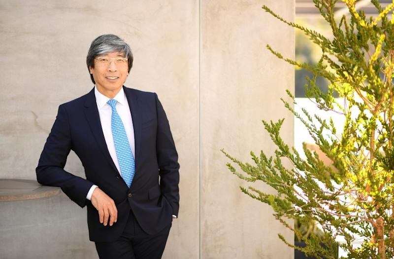 CULVER CITY-CA-MARCH 19, 2018: Dr. Patrick Soon Shiong is photographed at his office in Culver City on Monday, March 19, 2018. (Christina House / Los Angeles Times)