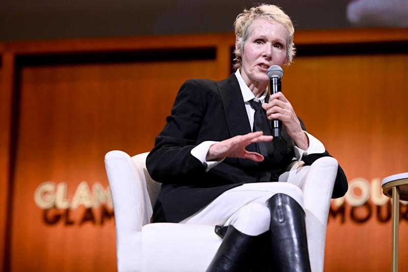 E Jean Carroll at the 2019 Glamour Women of the Year summit on 10 November 2019 in New York City: Ilya S Savenok/Getty Images for Glamour